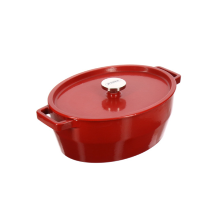 Кастрюля Slow Cook Red 33 см