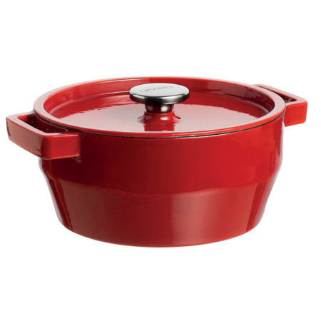 Кастрюля Slow Cook Red 20 см