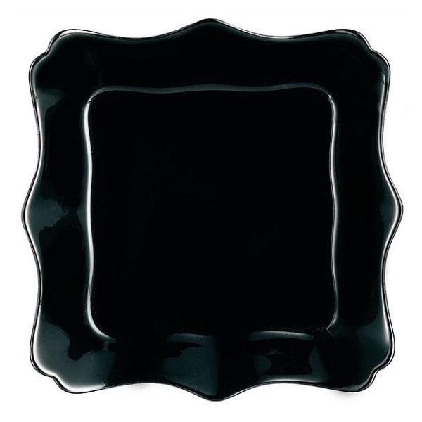Тарелка суповая AUTHENTIC BLACK 22,5 см