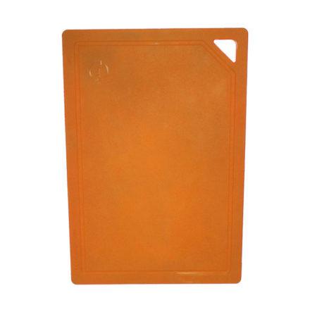 Доска разделочная 31 см оранжевая