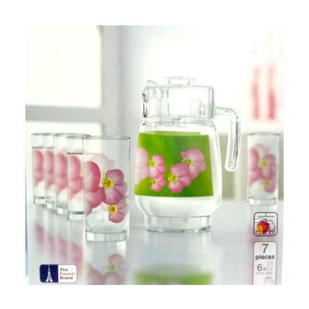 Набор ERINE кувшин + 6 стаканов