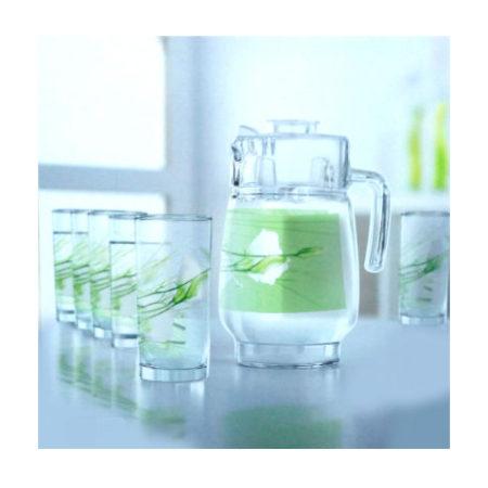Набор SOFIANE GREEN кувшин + 6 стаканов