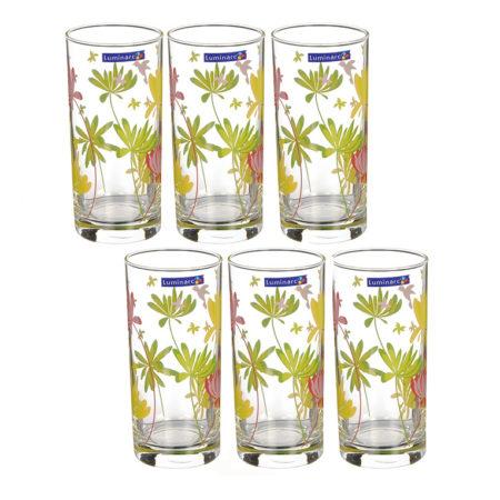Набор стаканов AMSTERDAM CRAZY FLOWER 6 шт