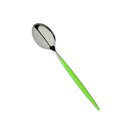 Ложка кофейная FLASH VM зеленая