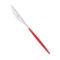 Нож столовый FLASH R красный