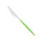 Нож столовый FLASH VM зеленый