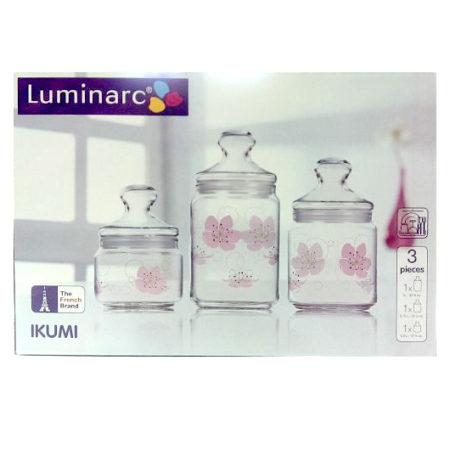 Набор банок IKUMI CLUB