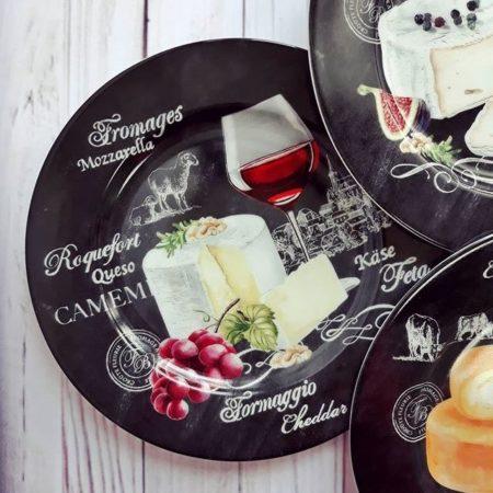 Набор тарелок WORLD OF CHEESE