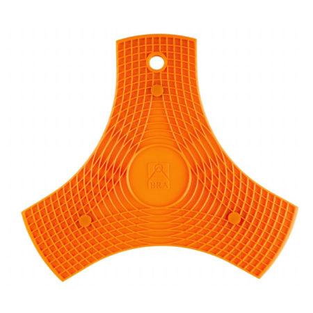 Подставка силиконовая BRA на магнитах оранжевая
