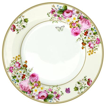 Тарелка обеденная BLOMING OPULENCE CREAM