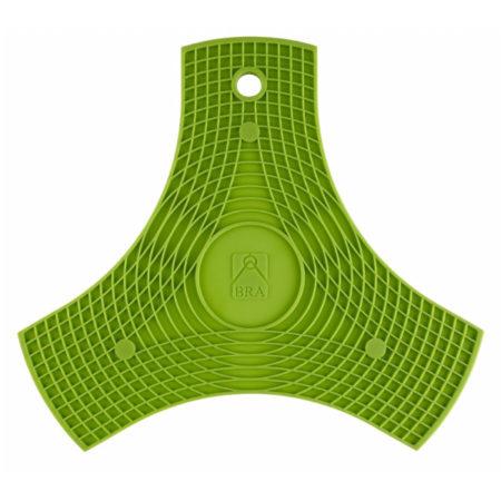 Подставка силиконовая BRA на магнитах зеленая