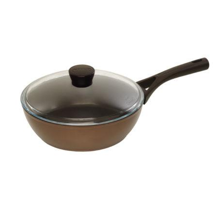 Сковорода GUSTO+ 24 см глубокая