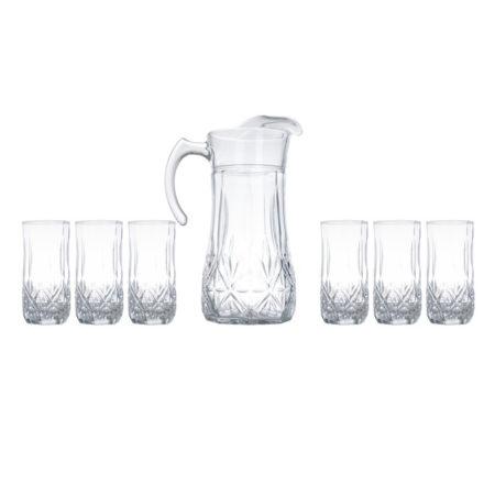 Набор BRIGHTON кувшин + 6 стаканов