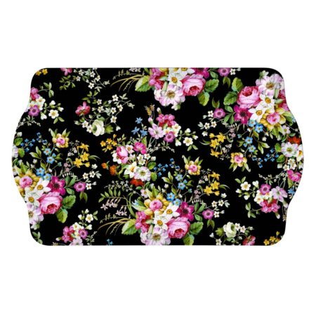 Поднос BLOOMING OPULENCE BLACK