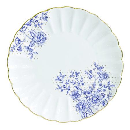 Тарелка десертная BLUE PEONIES