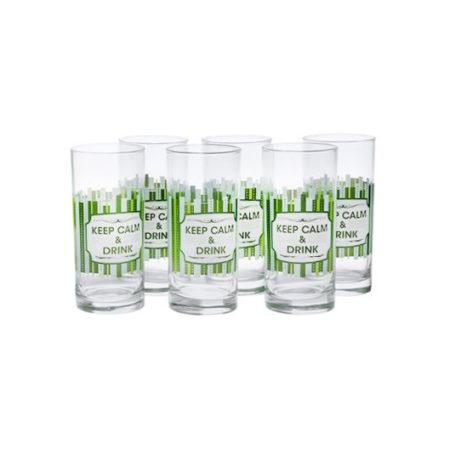 Набор стаканов AMSTERDAM COOL GREEN
