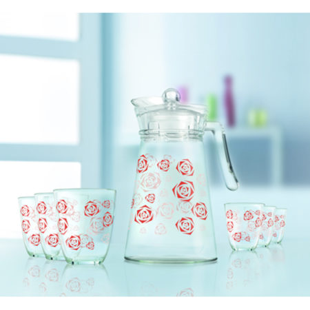 Набор BELIAROSA кувшин + 6 стаканов