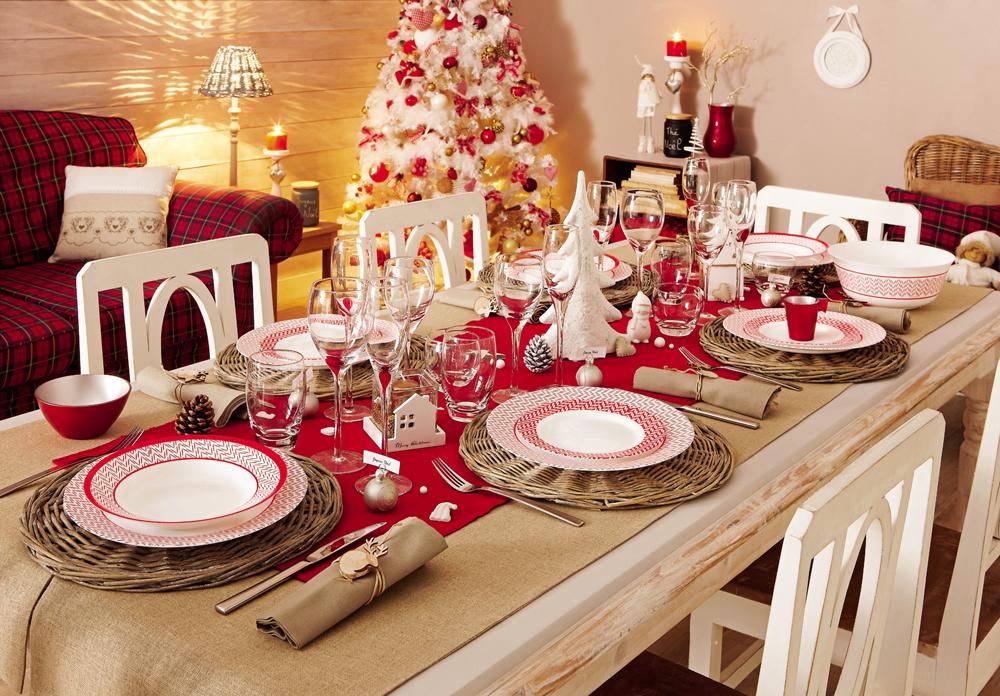 Новый год сервировка праздничного стола
