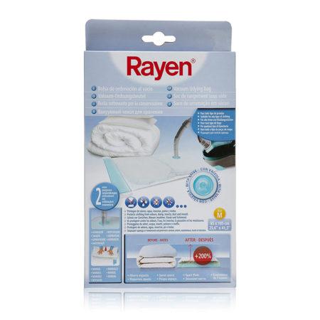 Чехол для одежды 105 x 65 см вакуумный RAYEN