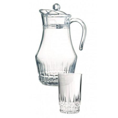 Набор LANCIER+VICTORIA ARCOPAL кувшин + 6 стаканов