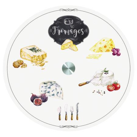 Блюдо KITCHEN BASIC FROMAGES крутящееся
