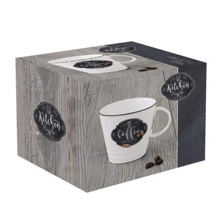 Кружка KITCHEN BASIC COFFEE 350 мл
