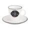 Кружка с блюдцем KITCHEN BASIC COFFEE 300 мл [KIBC1601]