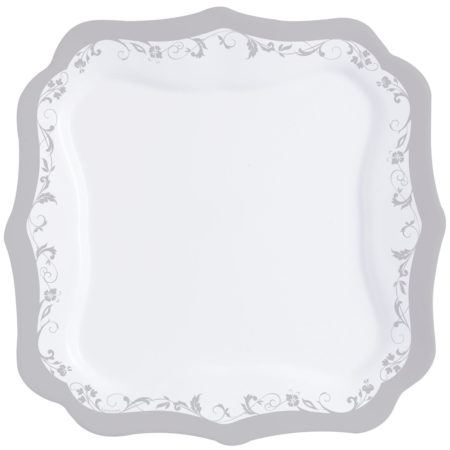 Тарелка обеденная AUTHENTIC SILVER 26 см