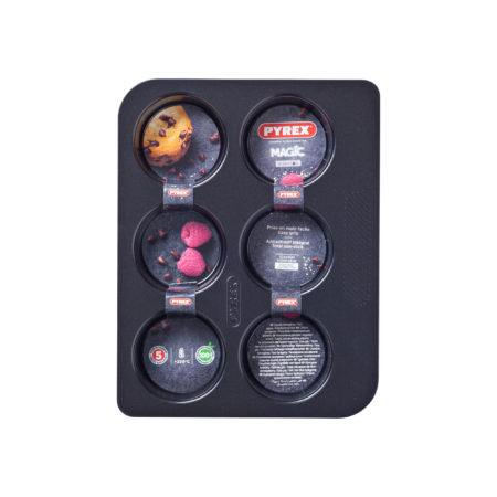 Форма для выпечки MAGIC 6 ячеек