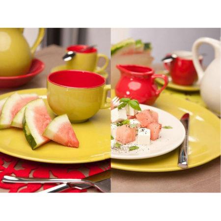 Тарелка суповая FUSION FRESH GREEN 21 см