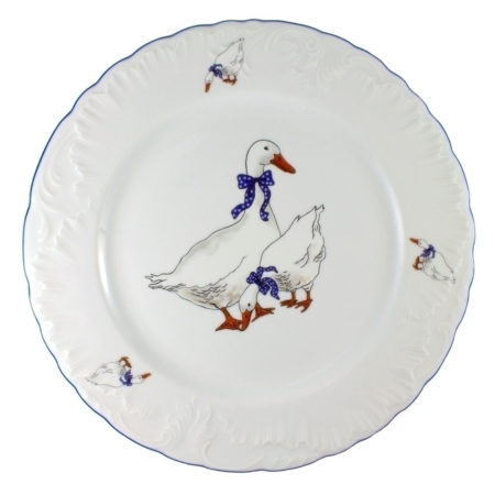 Тарелка обеденная ROCOCO GOOSE 26 см
