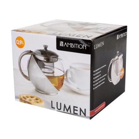 Чайник заварочный LUMEN 0,9 л