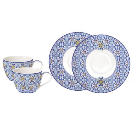 Набор чайный MAIOLICA BLUE 240 мл