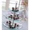 Подставка для десерта LAURA круглая 3 яруса [69897]
