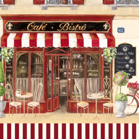 Салфетки CAFE BISTROT