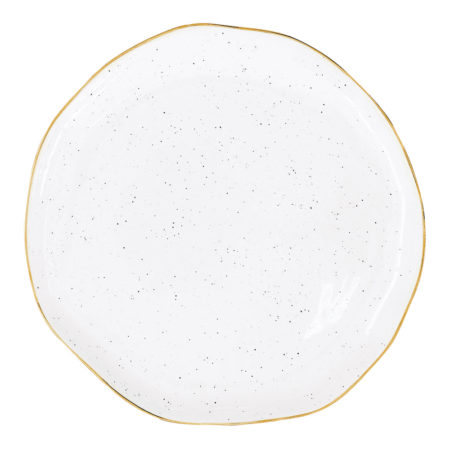 Тарелка десертная ARTESANAL WHITE 19 см