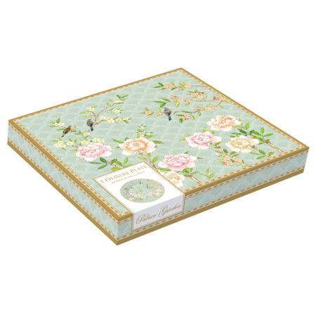Тарелка десертная PALACE GARDEN AQUA 19 см в коробке
