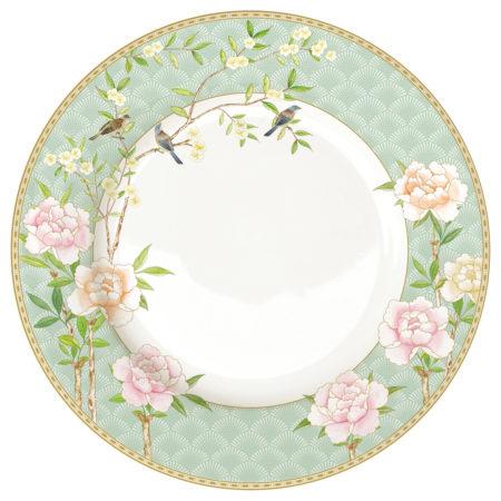 Тарелка обеденная PALACE GARDEN AQUA 27 см