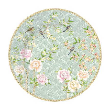 Тарелка десертная PALACE GARDEN AQUA 19 см