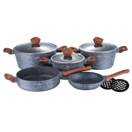 Набор посуды FOREST LINE 10 предметов с подставками