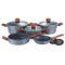 Набор посуды FOREST LINE 10 предметов с подставками [BH-1211]