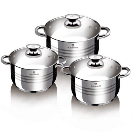 Набор посуды GOURMET LINE 6 предметов