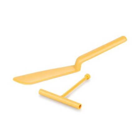 Лопатка для блинов DELICIA с палочкой для теста