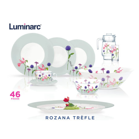 Сервиз ROZANA TREFLE 46 предметов