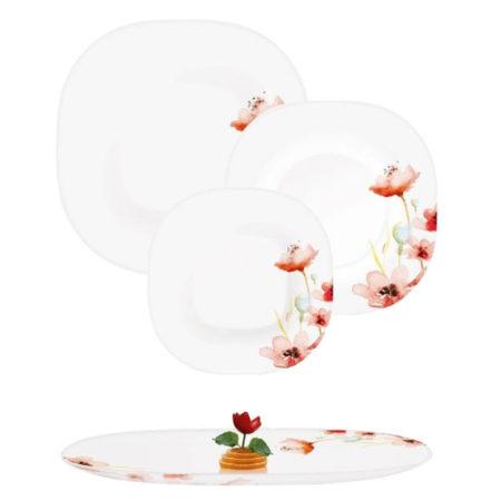 Тарелка десертная CARINA FLORENZA WHITE 19 см