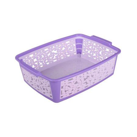 Корзинка Романтика 33 x 24,8 x 9,5 см фиолетовый