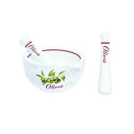 Ступка с пестиком OLIVES 12 см
