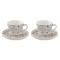 Набор кофейный CASA DECOR GREY 2 пары [CADG1656]
