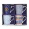 Набор кружек COFFEE MANIA BORD DE MER 4 штуки [CMBO0128]