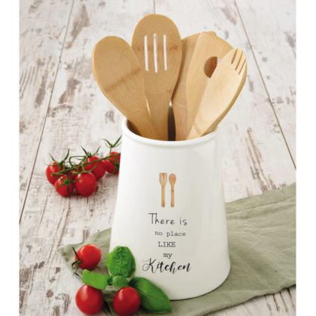Набор кухонных инструментов KITCHEN ELEMENTS в подставке